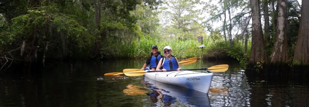 Kayak Charleston and Summerville-Scenic Ashley River, Cooper River-nature wildlife tours