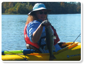 Discover South Carolina's world class fishing on Lake Marion and Lake Moultrie with Blueway Adventures kayak fishing